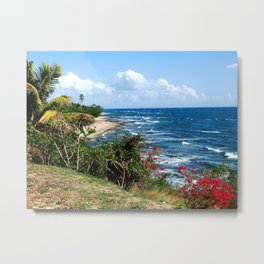 View near the Old lighthouse @ Rincon Metal Print