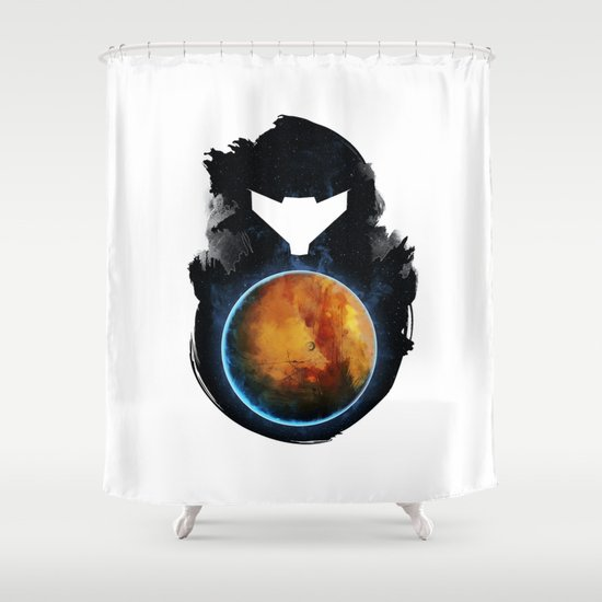 Metroid Prime Shower Curtain