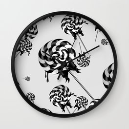 Goth Lollies Wall Clock