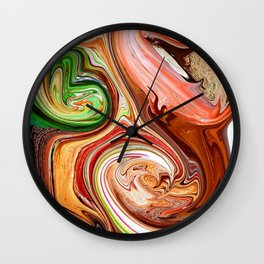 Nature Decomposition Wall Clock