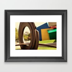 Strong Museum of Play Framed Art Print