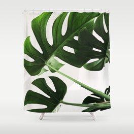 Green Leaf Shower Curtain