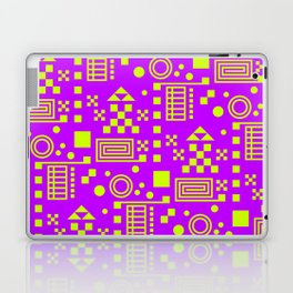 Wonderland Magenta Laptop & iPad Skin