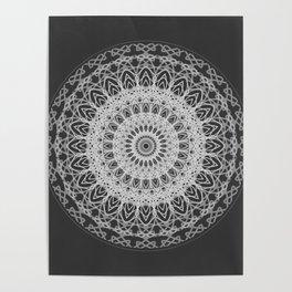 Mandala blast Poster
