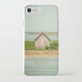 Little Beach House with Seagull Atop iPhone Case