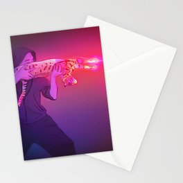 Photonic Cat Gun (Reworked from 2018 version) Stationery Cards