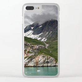 Barren Wilderness Clear iPhone Case