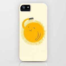 Here comes the sun iPhone SE Slim Case