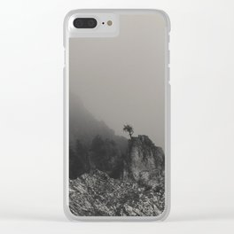Last man standing Clear iPhone Case
