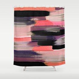 Orange-ish abtract Shower Curtain