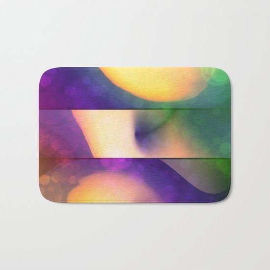 Abstract Color Bath Mat