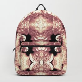 Shiny Old Rose Flower Design, Pattern Backpack