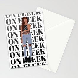 Girl on Fleek Stationery Cards