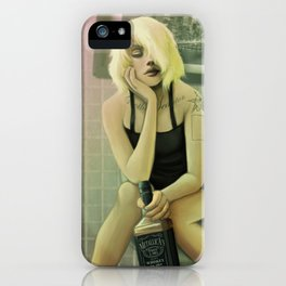Whiskey in the Bathroom iPhone Case