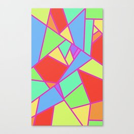 Gentle Abstract Canvas Print