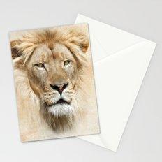 Lion Portrait Stationery Cards