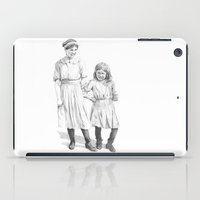 sisters iPad Cases featuring Sisters by Ursula Rodgers