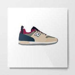 New Balance Sneaker Illustration Metal Print