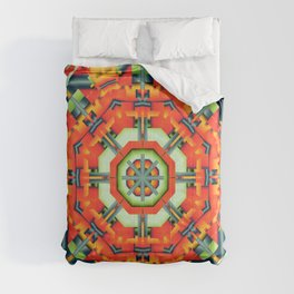 Colourful Geometric Abstract Comforters