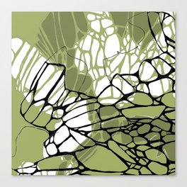 Army Green Wings Canvas Print