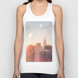 New York City Skyline Love Unisex Tank Top