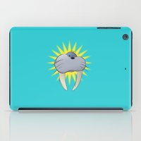 walrus iPad Cases featuring Walrus by quietsight