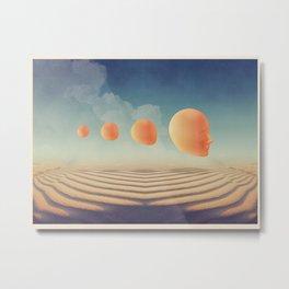 Mindscape Evolution Metal Print