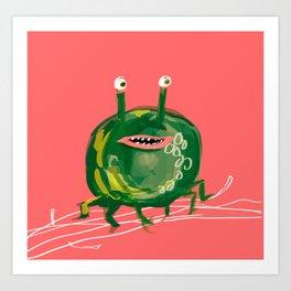 Booger  Art Print