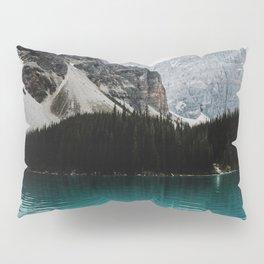 Lake Moraine, Banff National Park Pillow Sham