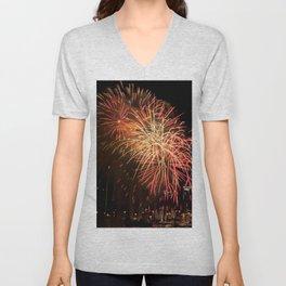 Firework collection 13 Unisex V-Neck