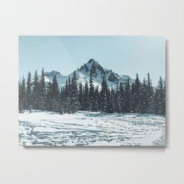 Bow Summit, Alberta, Canada Metal Print