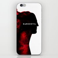 daredevil iPhone & iPod Skins featuring Daredevil by SG Posters