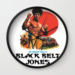 Black Belt Jones Wall Clock