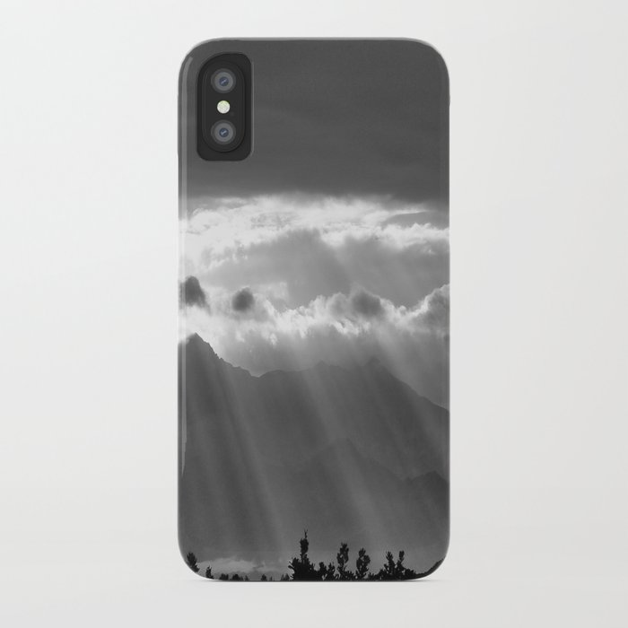 Rays From The Sky iPhone Case