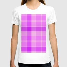 Shotland pink texture T-shirt