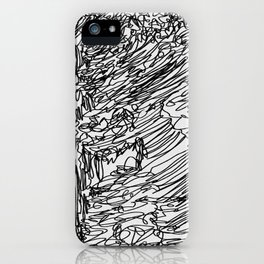 Waves of the Mountains iPhone Case