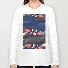 Blurred City  Long Sleeve T-shirt