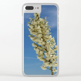 Soap Yucca Blossoms Clear iPhone Case