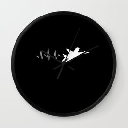 Heartbeat Jet Wall Clock
