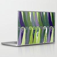 fern Laptop & iPad Skins featuring Fern by Alex Morgan