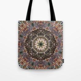 Mandala with ammonites Tote Bag