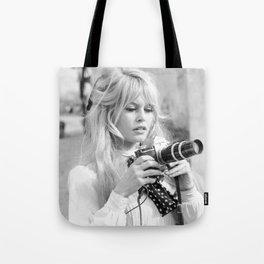 brigitte - bardot - style Tote Bag