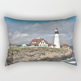 Port Head Lighthouse Rectangular Pillow