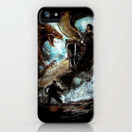 Feathered Death iPhone Case