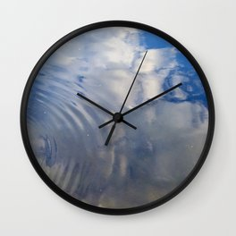 Cloud Rings Wall Clock