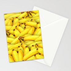 Yellow Bananas pattern Stationery Cards
