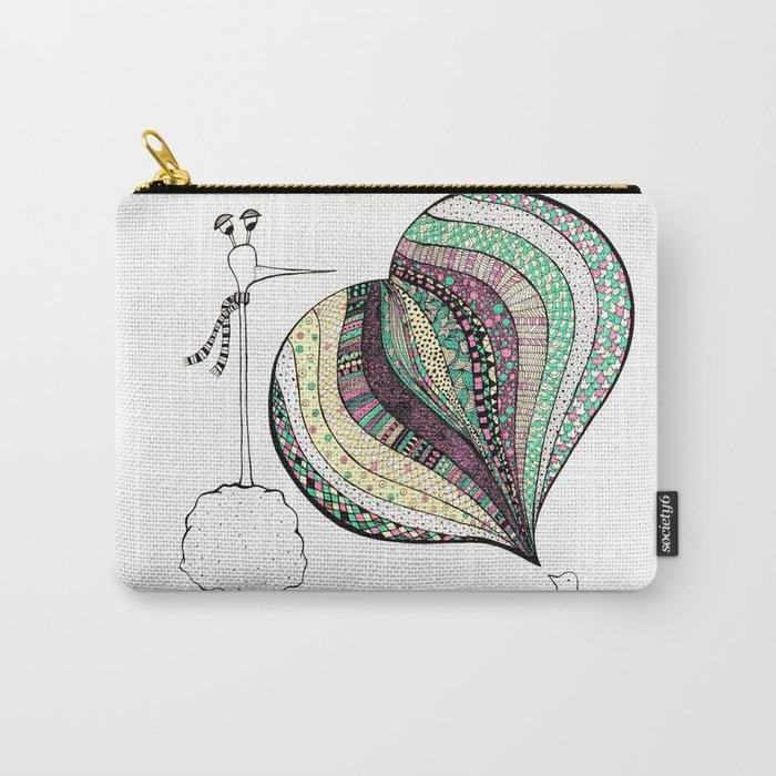 too tall Carry-All Pouch