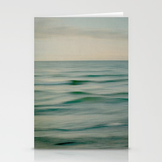 sea square V Stationery Cards