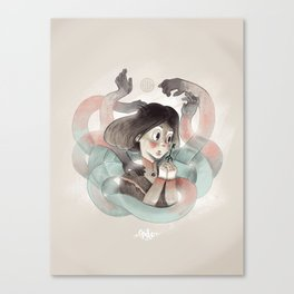 Ghost key Canvas Print
