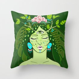 Nature Soul Throw Pillow